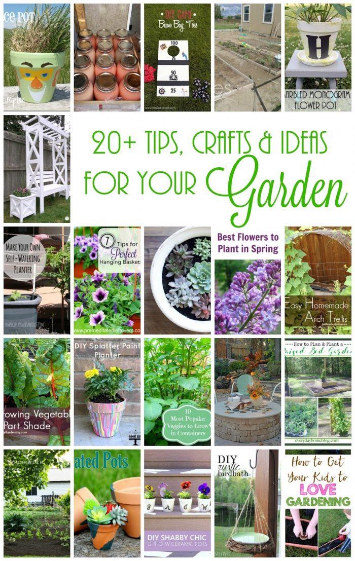20 Outdoor Ideas for the Garden