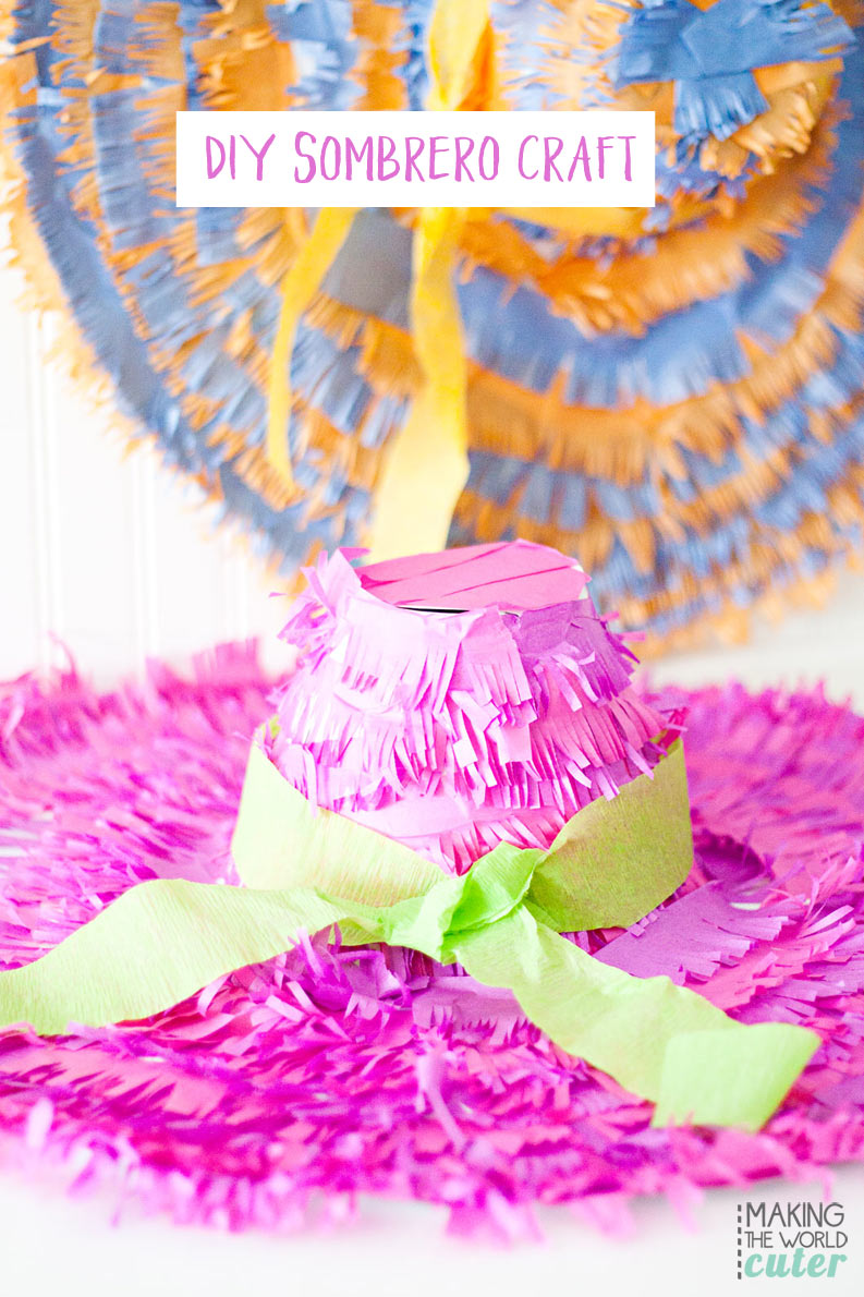 DIY Sombrero Craft