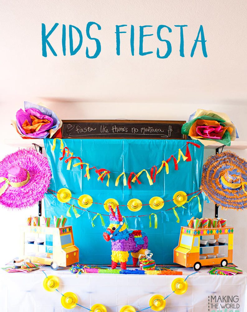 Kid's Fiesta Party
