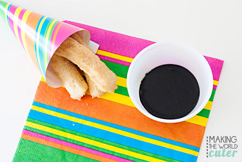 YUMMY  Chocolate Dipping Sauce, perfect for churros.
