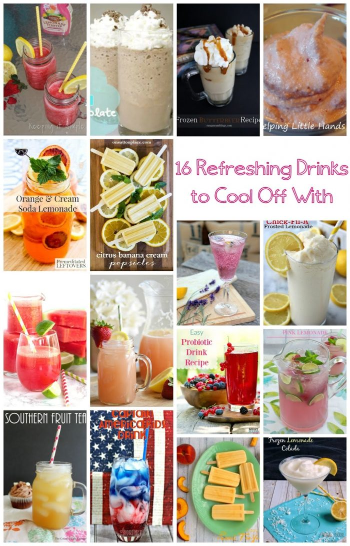 16 Refreshing Drink Recipes