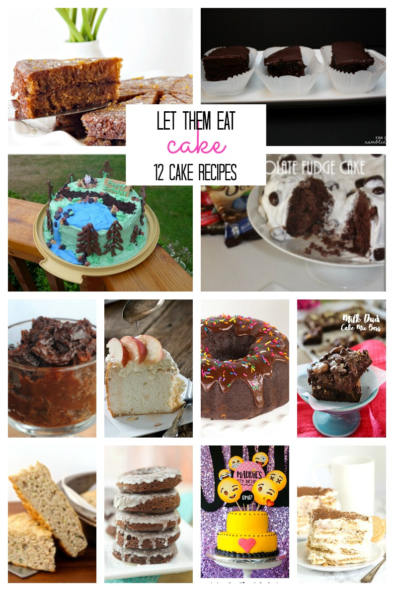 Let them eat cake! 12 cake recipes and ideas