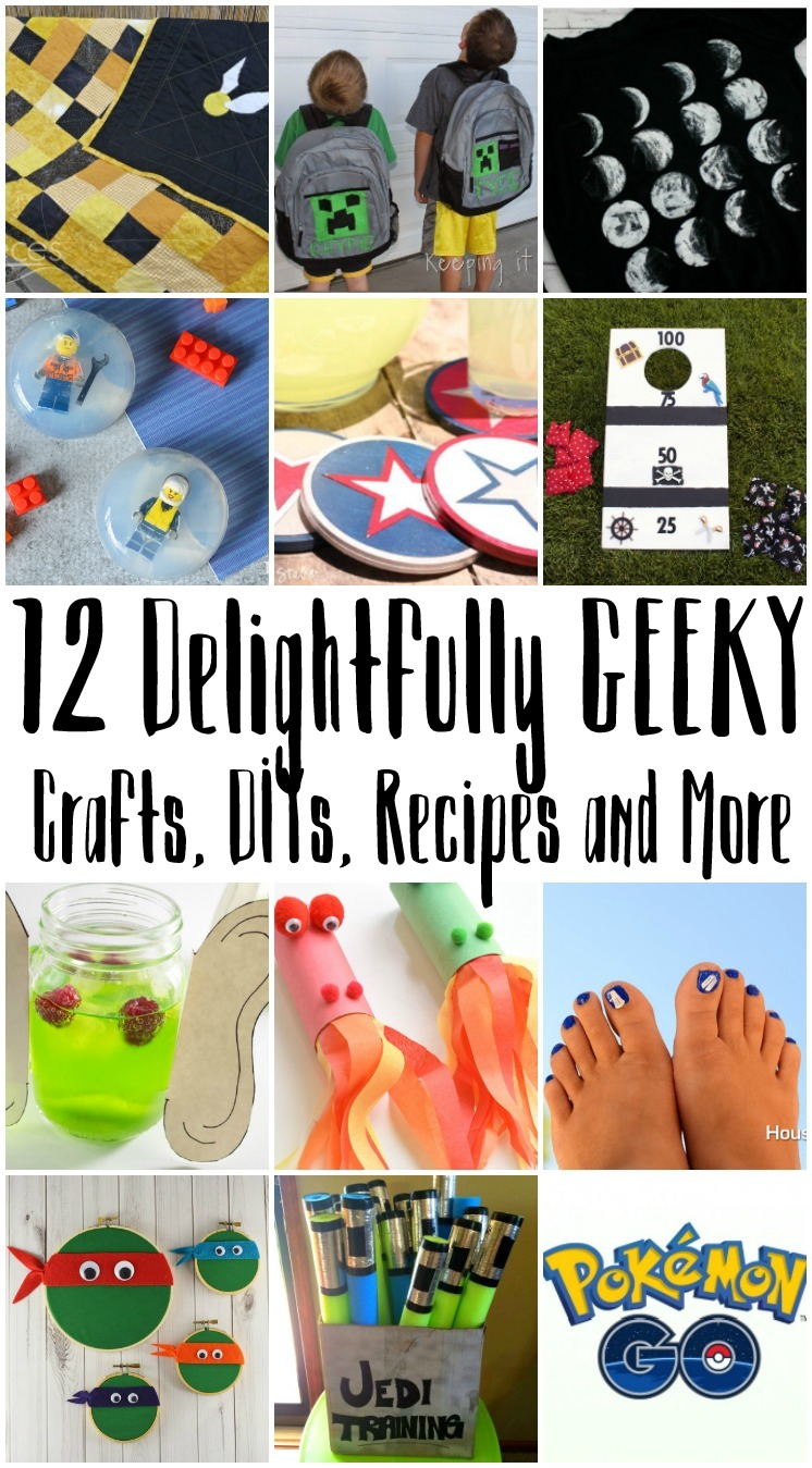 Geeky Crafts and Recipes