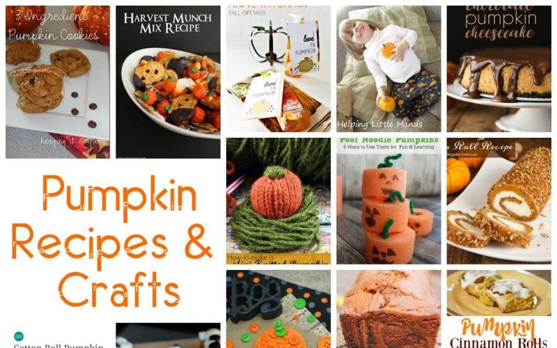 30+ Pumpkin Recipes and Crafts