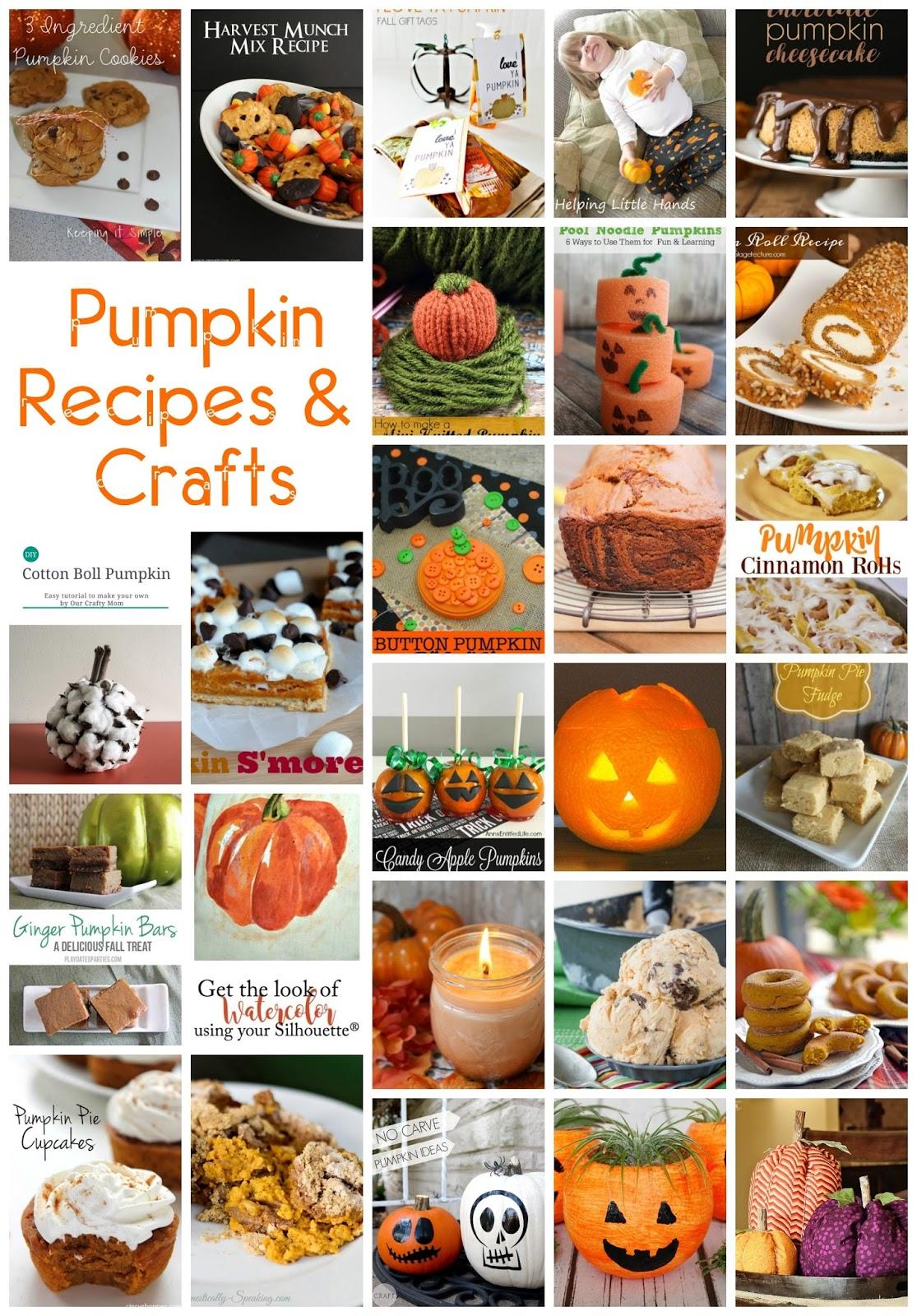 30 + Pumpkin Recipes and Crafts