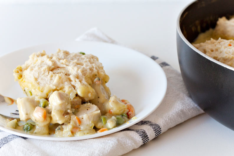 Chicken Pot Pie Dumpling Recipe by Making the World Cuter