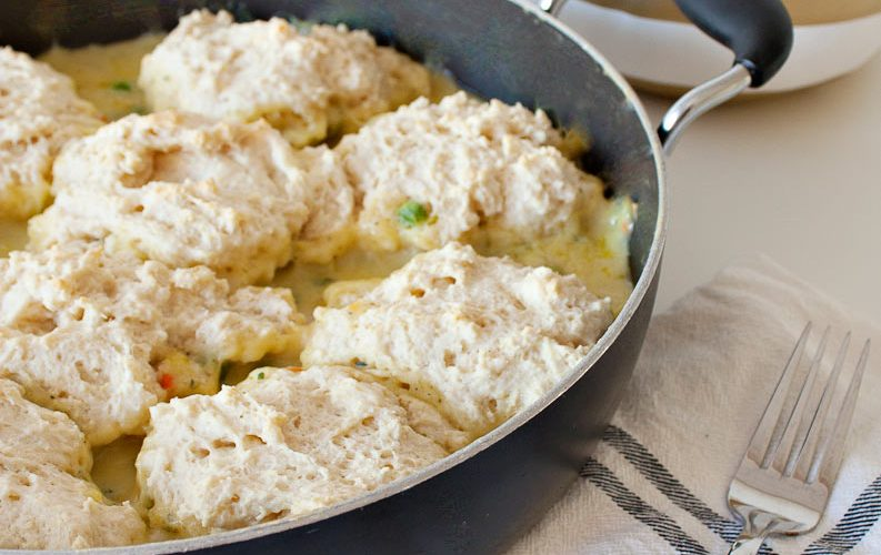 Chicken Pot Pie Dumplings