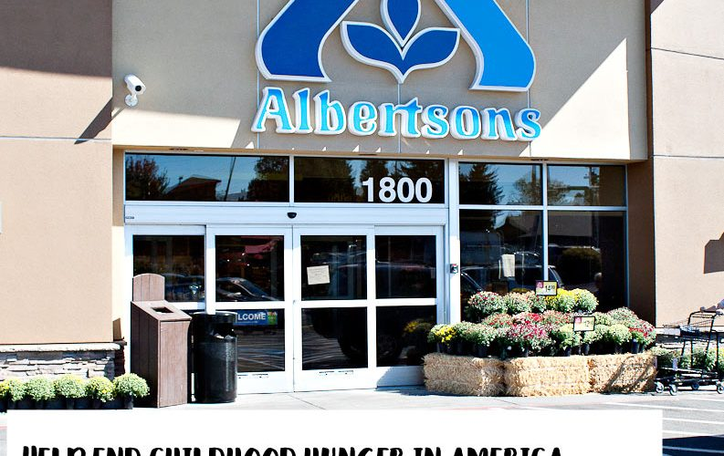 Hunger Is Campaign with Albertsons