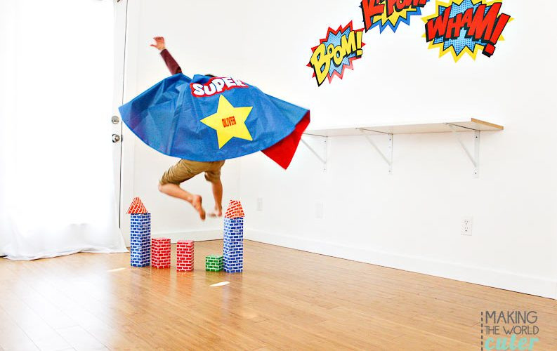 How to throw a Superhero Party your Kids will Love