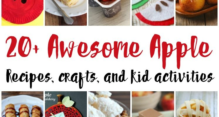 20 Apple Crafts and Recipes