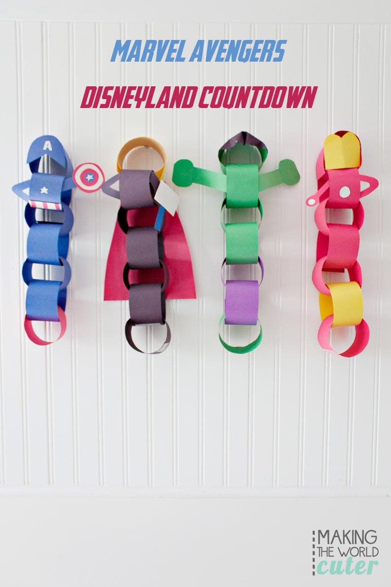 Marvel Avengers Disneyland Countdown