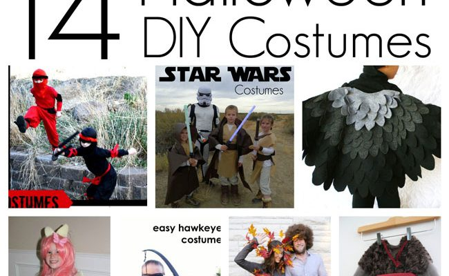14 DIY Halloween Costumes