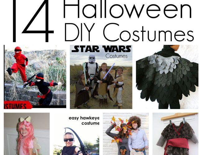 14 DIY Halloween Costumes