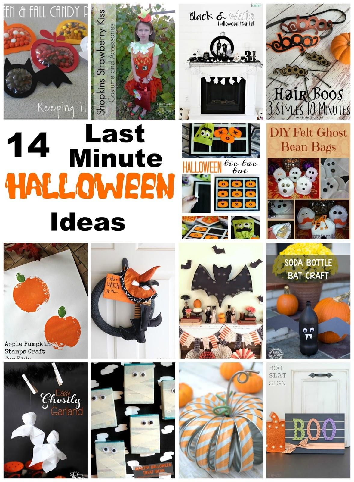 14 Last Minute Halloween Ideas