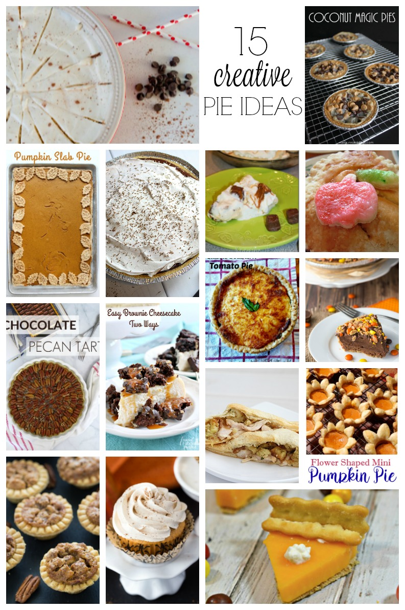 15 Creative Pie Ideas