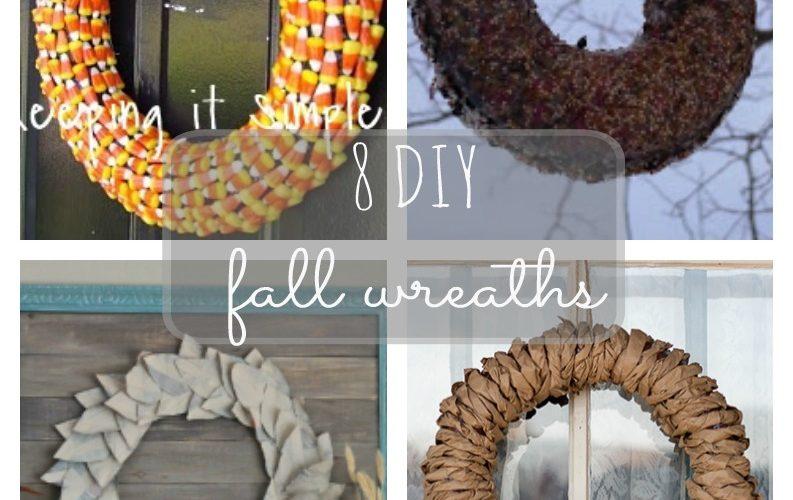 8 DIY Fall Wreath Ideas