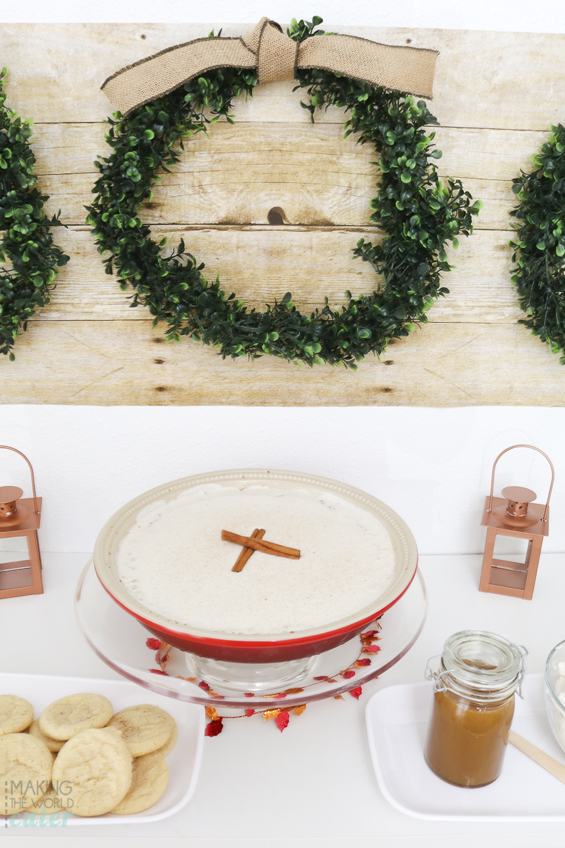 Cinnamon Cheesecake and Gorgeous Friendsgiving Pie Tasting Party Ideas