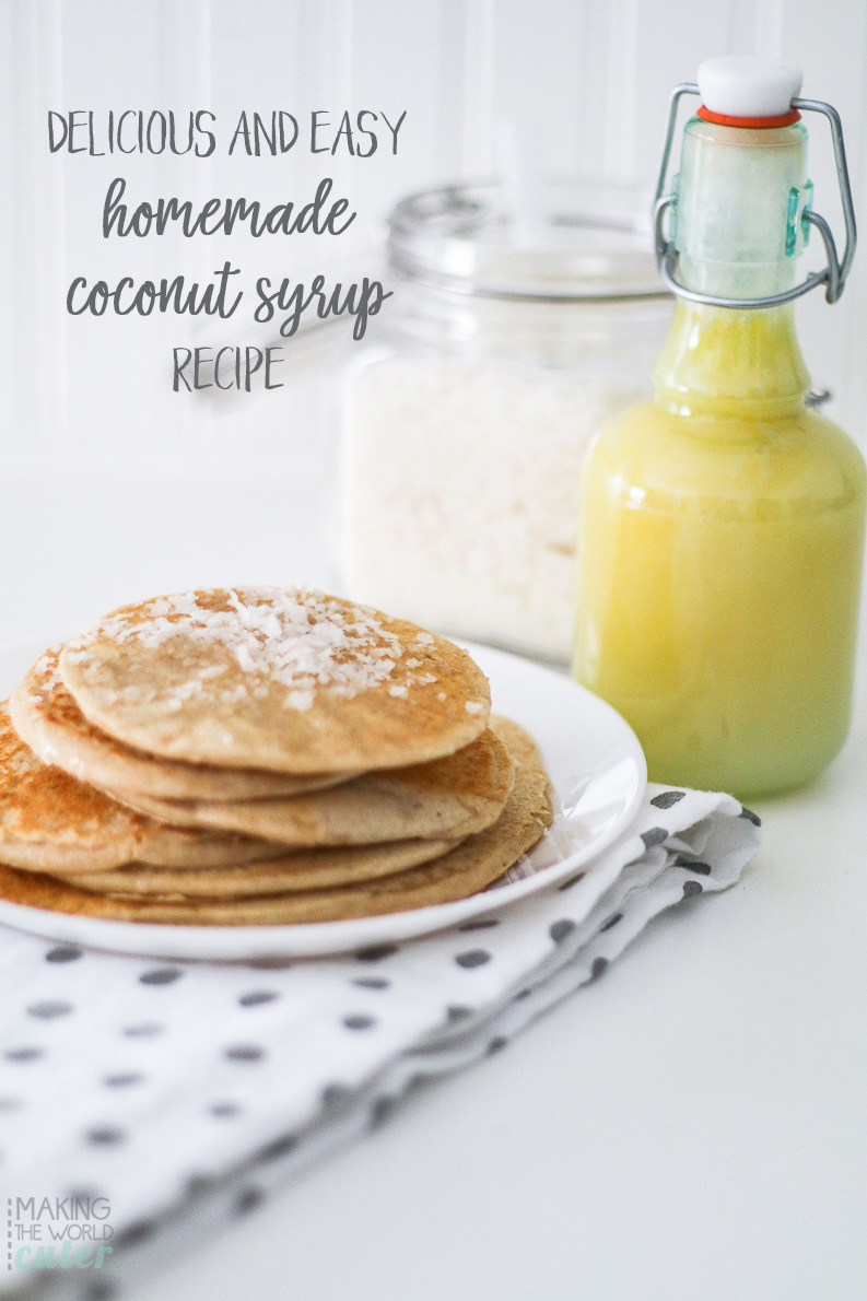 Delicious and Easy Coconut Syrup Recipe
