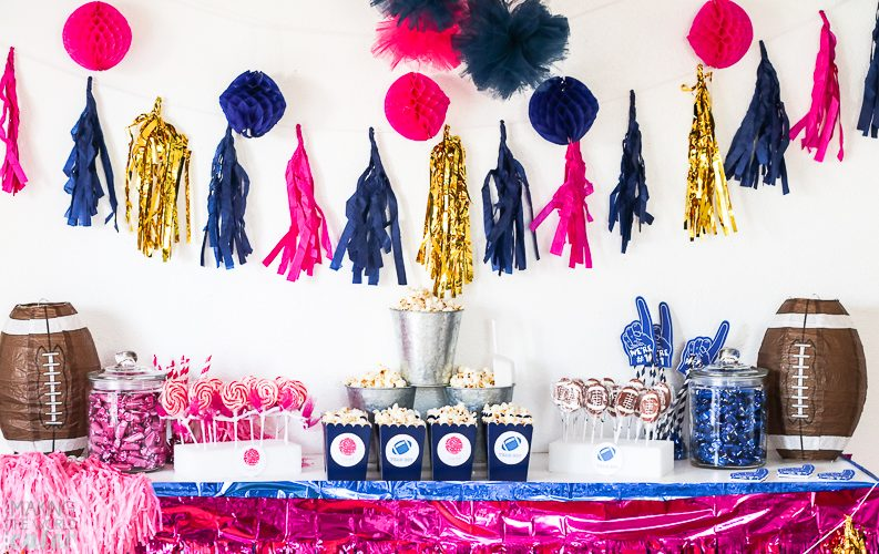 How To Throw An Amazing Football Baby Gender Reveal Party