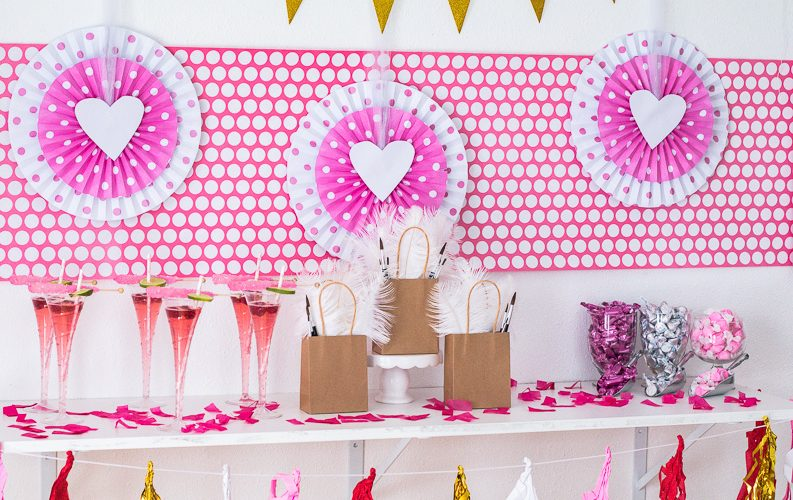 How to Create the Perfect Galentine Sip and Paint Party