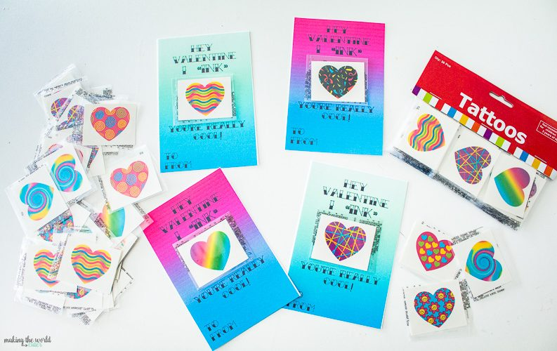 Give the Cutest Tattoo Valentine Cards this Year