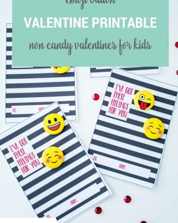 Emoji Valentine Free Printable Cards for Kids, Tweens and Teens