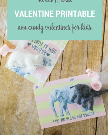 Wild Valentine Cards Sweet and Perfect for classroom and preschool parties!