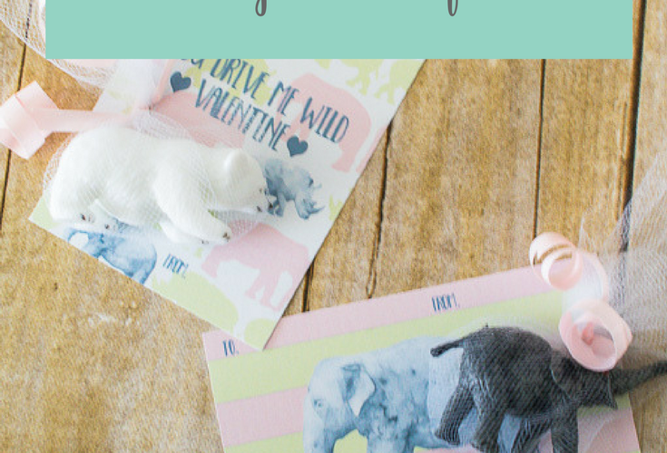 Give the Sweetest Little Wild Valentine cards