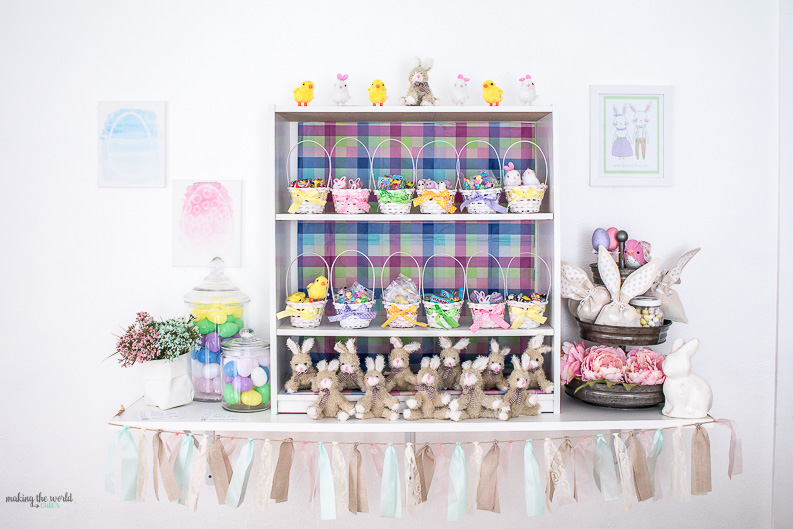 Easter Bunny Brunch | Basket Stuffing Party Idea