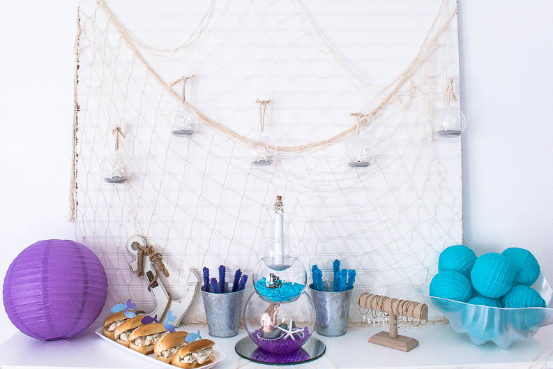 Mermaid or Fisherman Gender Reveal Party