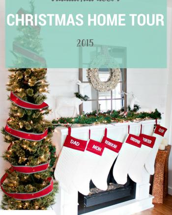 Christmas Mantel Home Decor Tour
