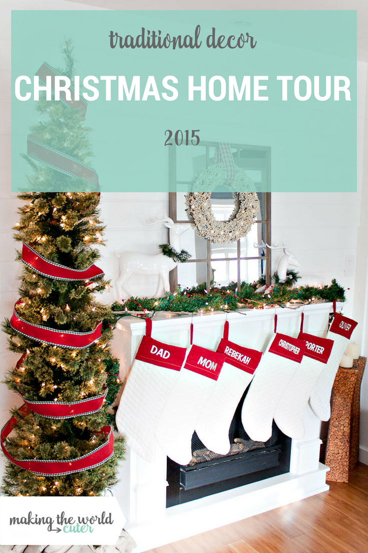 Christmas Mantel Home Decor Tour