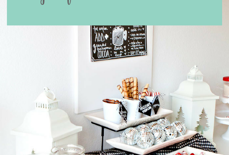 6 Tips for a FABULOUS Hot Cocoa Bar