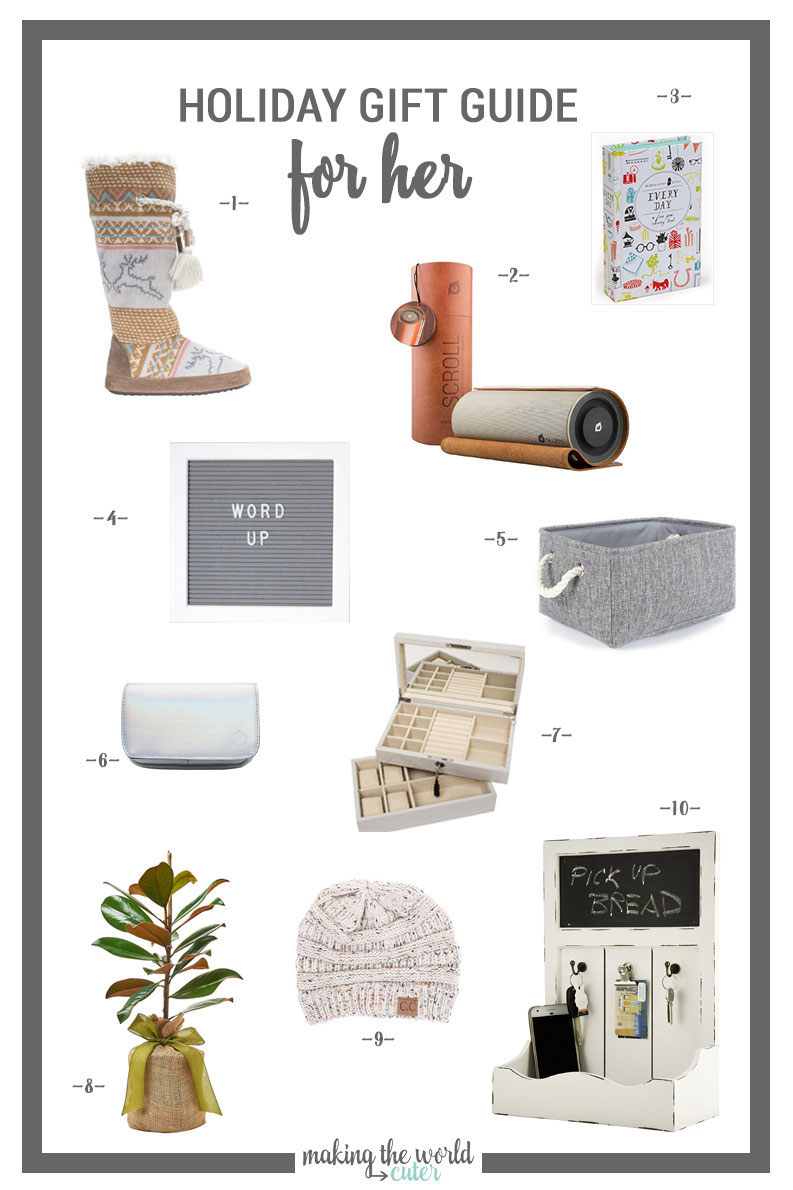 10 of the best gift ideas for the woman who has everything