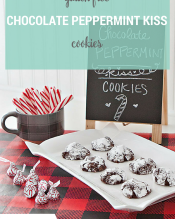 Gluten Free Chocolate Peppermint Cookie Recipe
