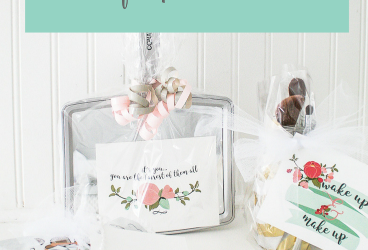 Beauty Gift Ideas with Free Printable Cards