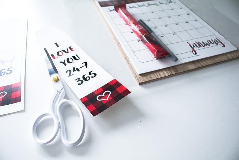 love you 365 gift tag printable