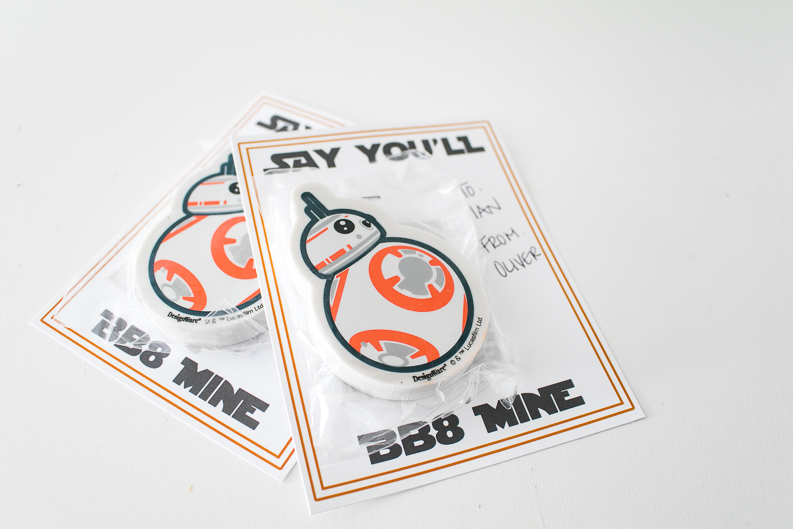 BB8 MINE VALENTINE