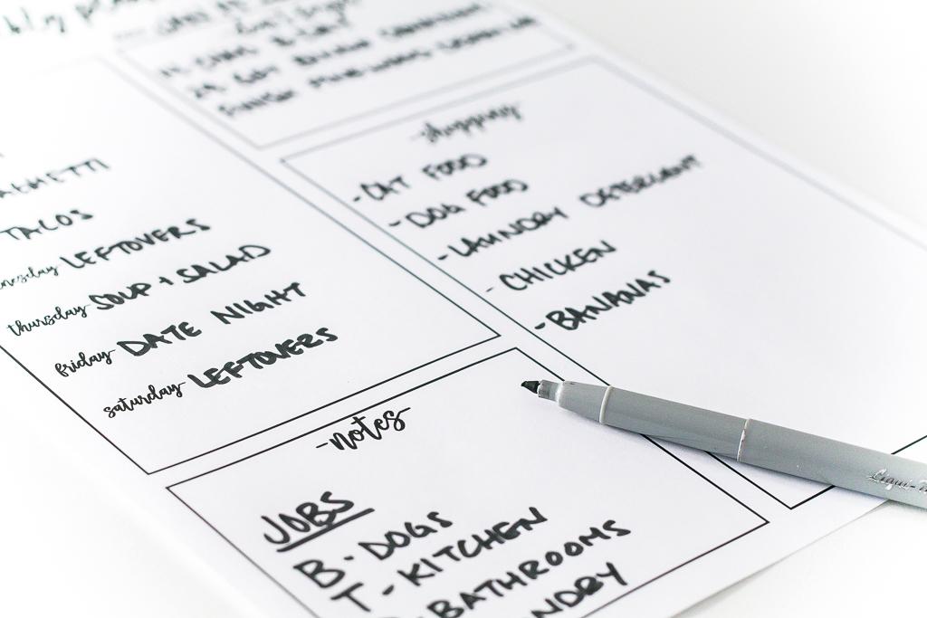 Weekly Planner Free Printable Ideas