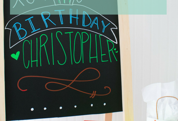 How to Make a DIY Sandwich Board Chalkboard