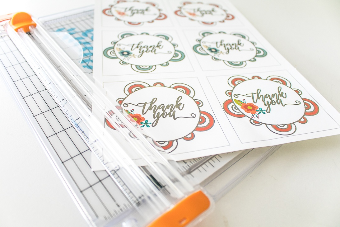 Mandala Thank You Gift Tags Free Printable
