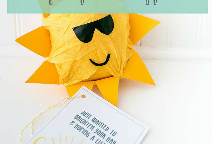 Sunshine Gift Tags Free Printable