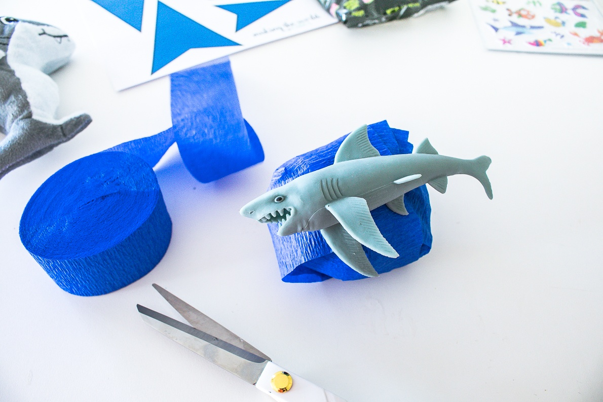Shark Surprise Ball DIY