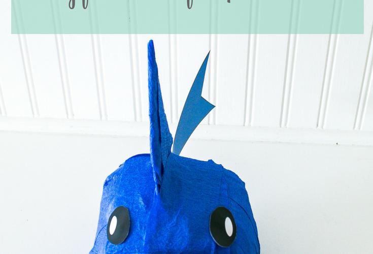 Shark Surprise Ball with Free Printable
