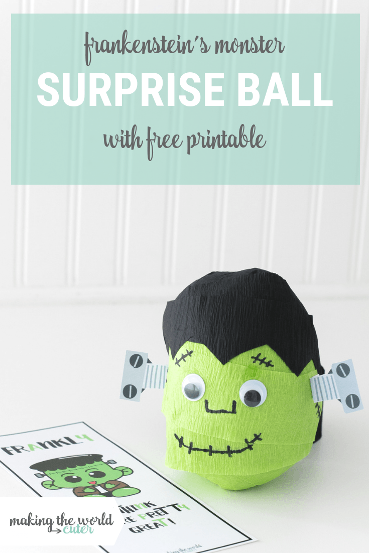 Frankenstein's Monster Surprise Ball