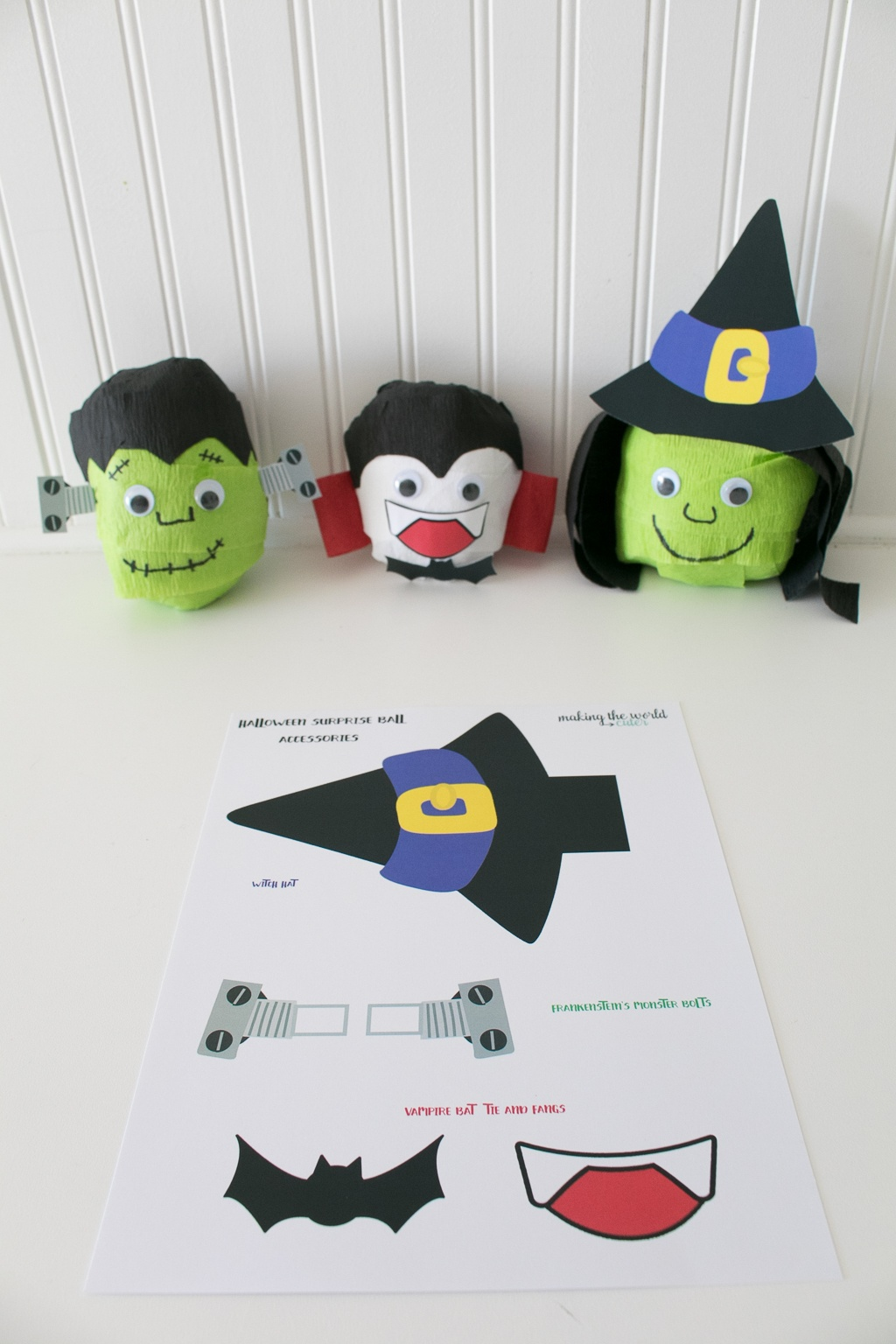 Halloween Printable Surprise Balls