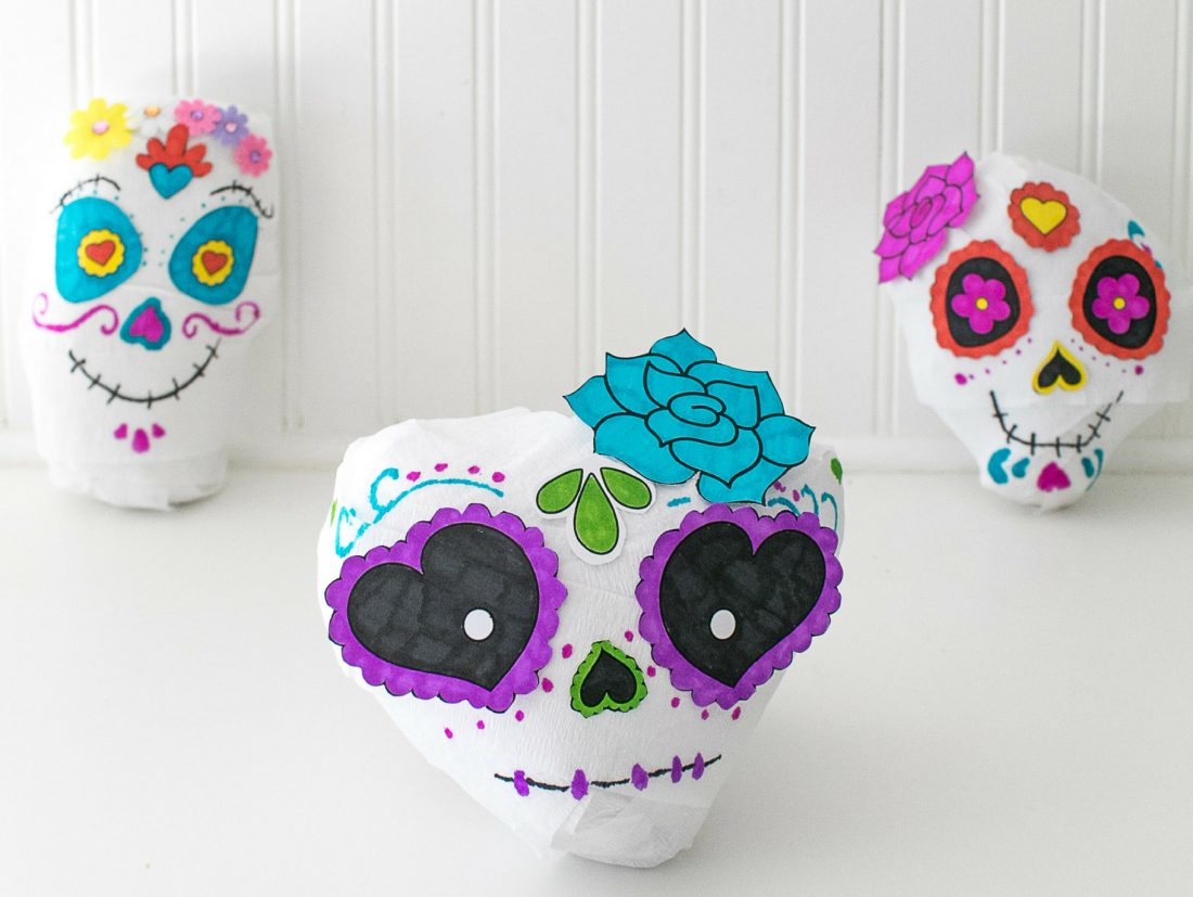 Sugar Skull Halloween Surprise Ball
