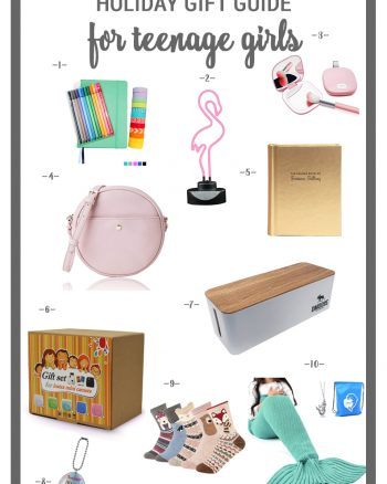 10 Totally Cute and Unique Gifts for Teenage Girls