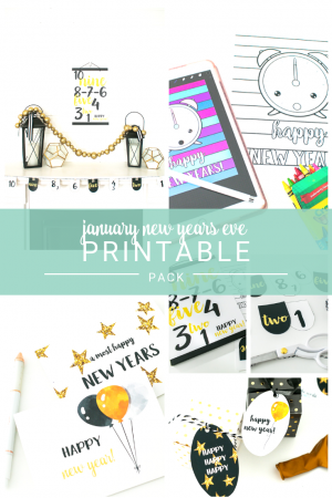 New Years Eve Printable Pack