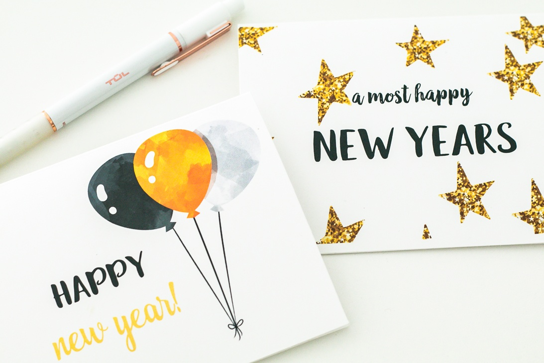 New Years Eve Greeting Cards